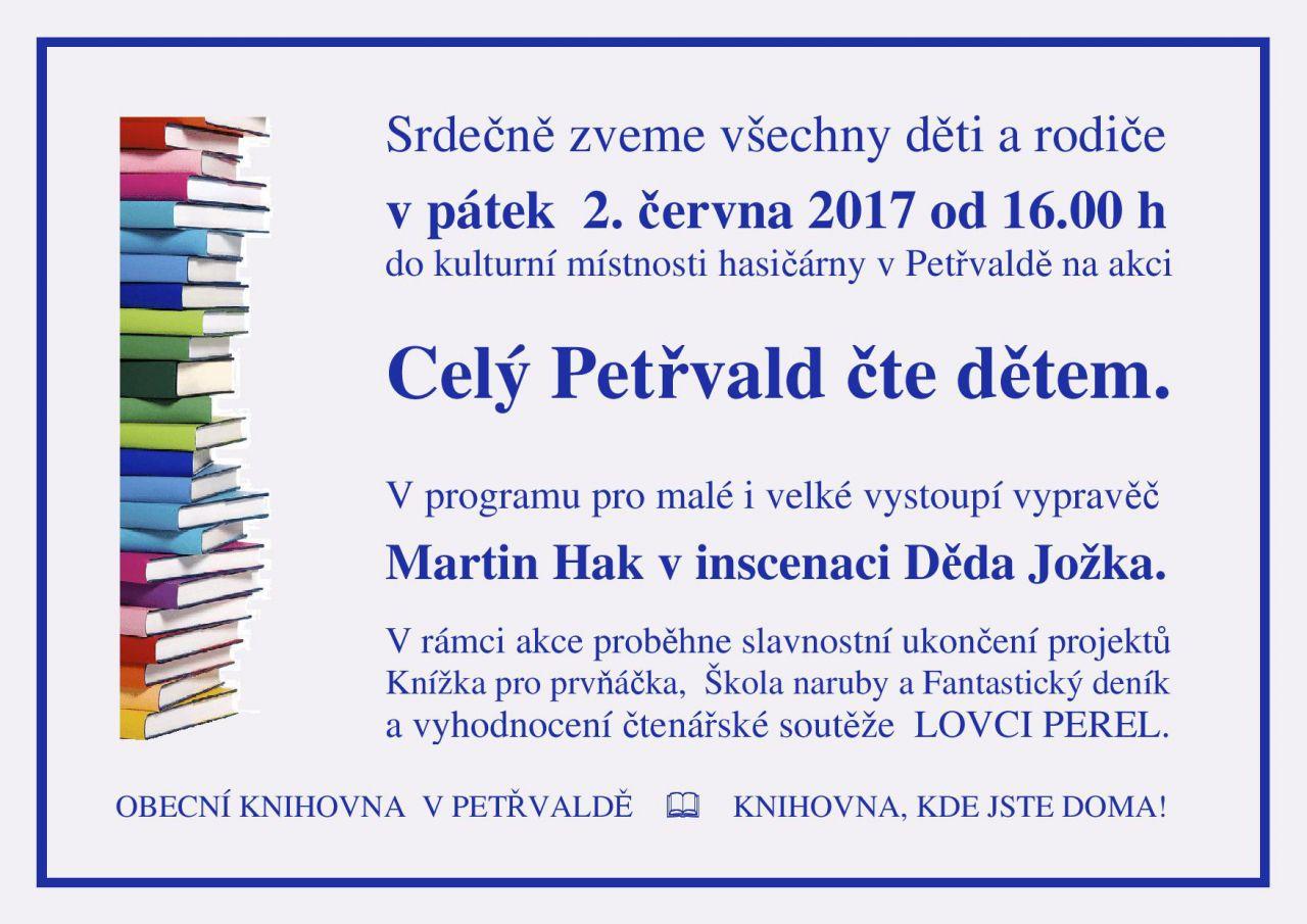 Celý Petřvald čte dětem 1
