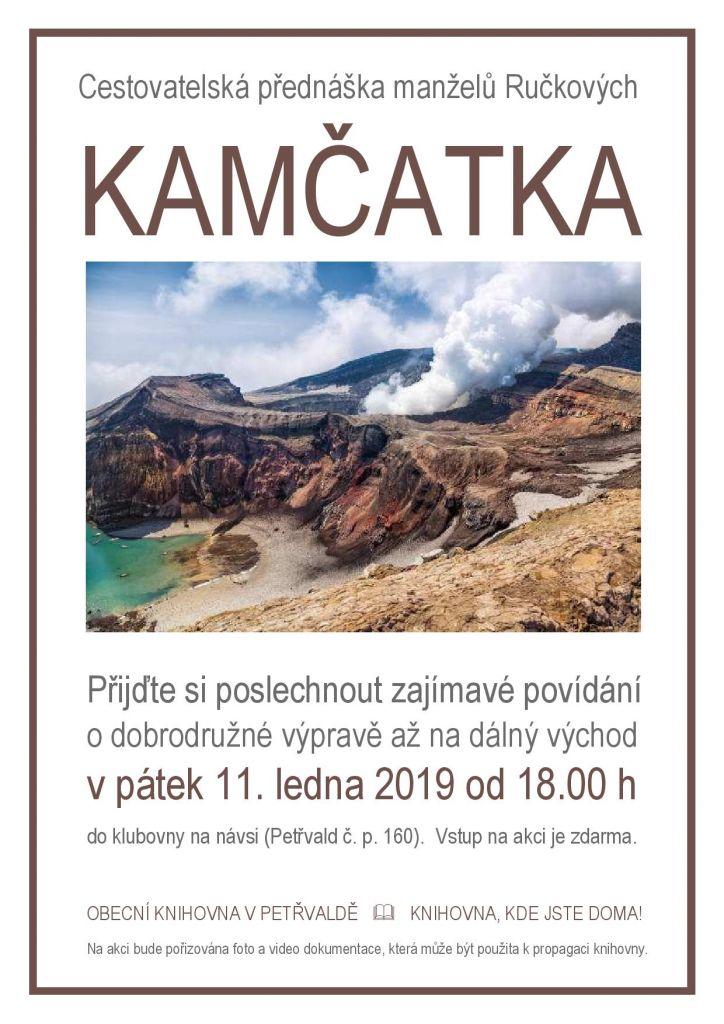 Cestovatelská přednáška Kamčatka 1